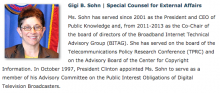 Gigi B. Sohn bio from FCC website