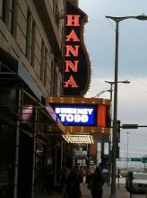 Great Lakes Theater's Sweeney Todd at the Hanna Theatre