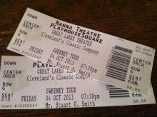 Great Lakes Theater's Sweeney Todd tickets
