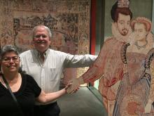 Julie and Stuart at Renaissance Splendor: Catherine de' Medici's Valois Tapestries