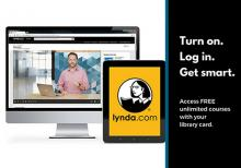 Lynda.com Business and Technology Classes -- FREE with Library Card!