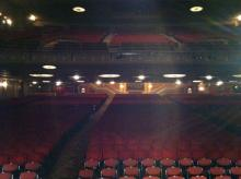 View From Stage - State Theatre