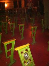 Ohio Theatre - Playhouse Square renovation continues! Coming soon: New seats!