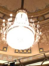Ohio Theatre - Great chandeliers
