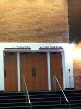 Allen Theatre - Side door