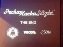 Thank you, PechaKucha sponsors