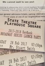 Tickets for PlayhouseSquare Launch Party for the KeyBank Broadway Series