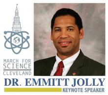March for Science Cleveland Keynote Speaker Dr. Emmitt Jolly