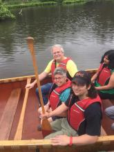 Enjoying Cleveland Metroparks' Voyageur Canoe