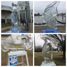 Nice Ice at North Coast Harbor Ice Fest 2017