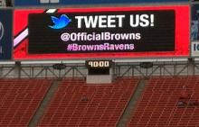 Tweet Us! @OfficialBrowns #BrownsRavens