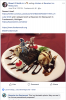 Facebook Post: Dessert Time! Anniversary Cake at Frankenmuth Bavarian Inn!