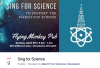 Sing for Science to support the March for Science Cleveland
