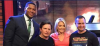Rick Neumann with Michael J. Fox, Kelly Ripa, and Michael Strahan